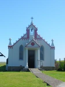 Chapel the Prisoners of War built