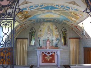 chapel built by Italian Prisoners of War