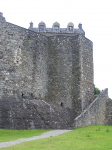 The castle at Dunstaffnage