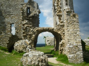 The Castle at Corfe